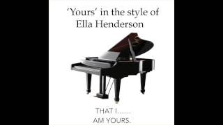 Yours karaoke Ella Henderson
