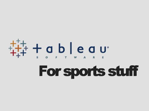 Intro to Tableau Public