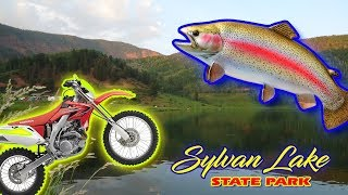 RVing Colorado Sylvan Lake State Park Colorado | RV Camping in Colorado White River National Forest