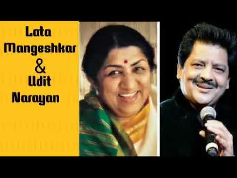 My Top 5 Romantic Songs Of Lata and AshaMangeshkar and Udit Narayan