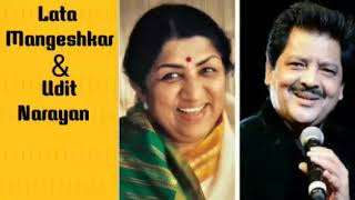 Gambar cover My Top 5 Romantic Songs Of Lata and Asha  Mangeshkar and Udit Narayan