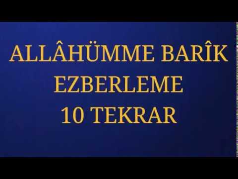 Kuran Öğreniyorum 32 - Allahümme Bârik (Fatih Çollak)