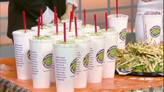 New Items: Mediterranean Flatbreads & Signature Herb-infused Smoothies At Tropical Smoothie Cafe