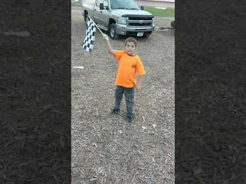 Eli at Seymour Speedway