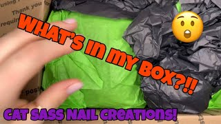 Cat Sass Nail Creations Unboxing!