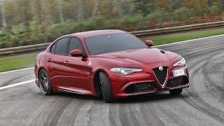 Alfa Romeo Giulia Quadrifoglio first drive