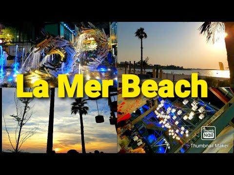 LA MER BEACH DUBAI   Open Beach   La Mer Beach Park   Best Beach With Shopping & Dining Spot in UAE