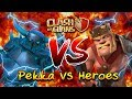 ZadistiX - Clash Of Clans Pekka VS King เท่าไหร่ถึงเท่าเทียม?