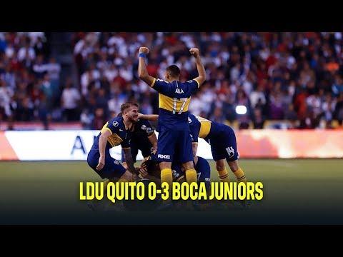 LDU Quito vs Boca Juniors 0-3 | Resumen y goles | Highlights Copa Libertadores 2019