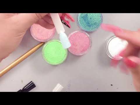 Бархатные пески и цветные блестки - новые идеи летнего дизайна!