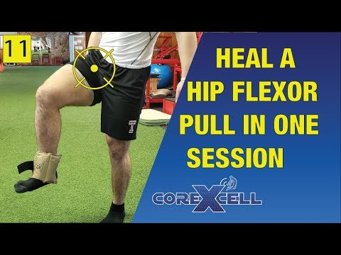Fix a Hip Flexor Pull in One Session – The Miracle Exercise – Ep11