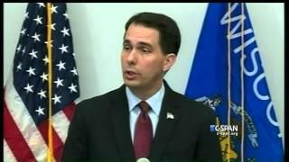 Scott Walker Suspends Presidential Campaign (C-SPAN)