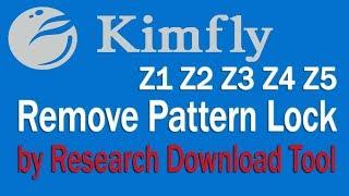 Kimfly Z1 Z2 Z3 Z4 Z5 Remove Pattern Lock by SCom Mumbai