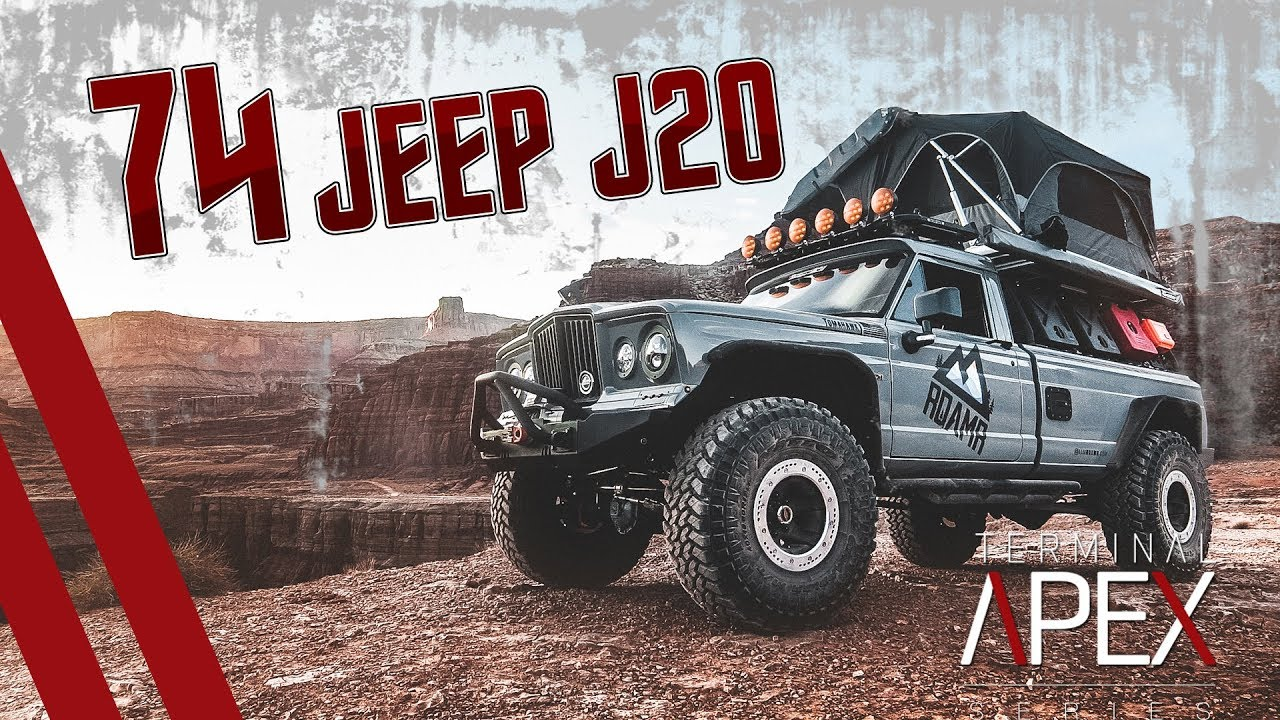 This restored '74 Jeep J20 is the stuff of dreams