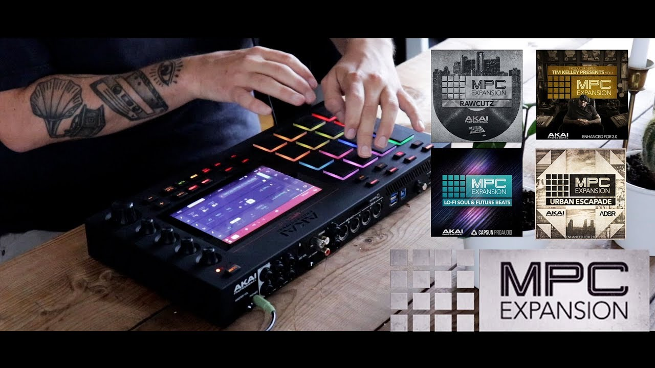 MPC Live - Demo of some MPC expansions