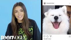 Madison Beer Breaks Down Her Favorite Instagram Accounts | Teen Vogue