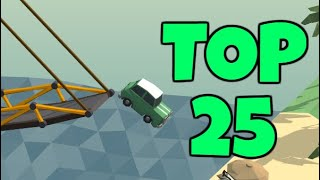Becoming a Top 25 Poly Bridge Player