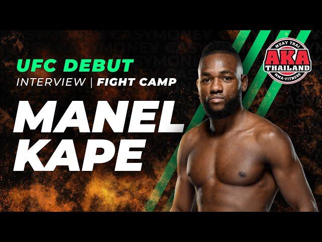 Manel Kape prepares for his UFC Debut! | AKA Thailand
