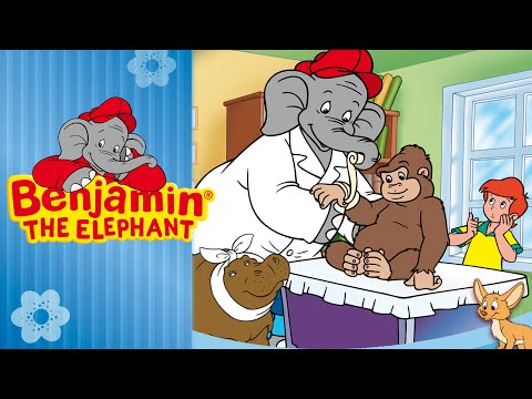 Benjamin the Elephant - The veterinarian  FULL EPISODE