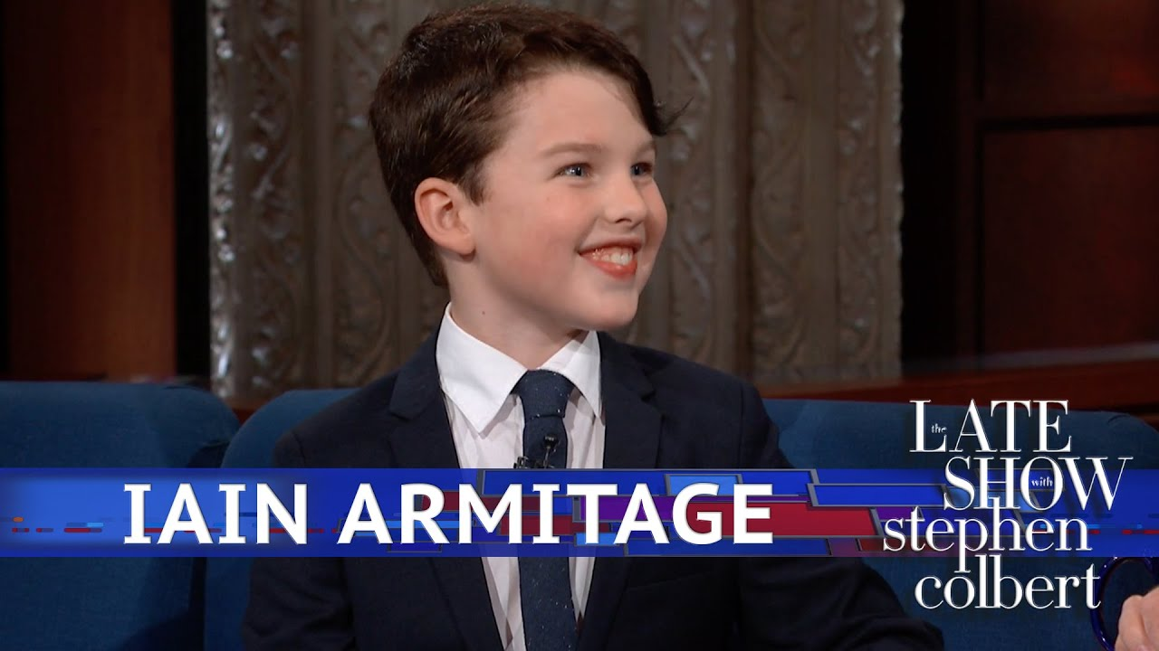Iain Armitage Reviews The Late Show