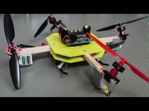 Quad+(Motor 4 and Servo 4) & HK KK2.0 V1.4 flight experiments Vol.44