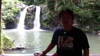 Bunga Twin Falls, Nagcarlan, Laguna