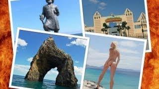 Коктебель(Коктебель Крым! Обзор от Нового Коктебеля до нудиского пляжа! Экскурсия с моря набережная Коктебеля. Лето..., 2013-05-12T10:29:17.000Z)