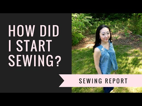 Editor-in-Chief Jennifer Moore's Sewing Story