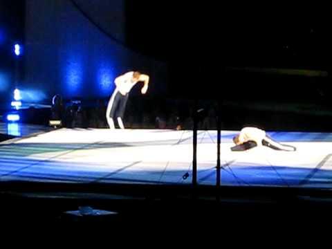 morgan and paul hamm - 2008 gymnastics tour