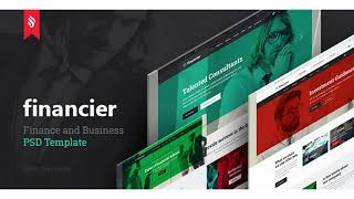 Financier - Finance & Business PSD Template | Themeforest Website Templates and Themes