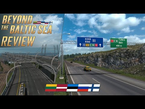 ETS2 Beyond the Baltic Sea DLC Review - Drive in Baltic