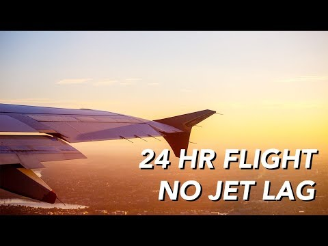 How to Beat Jet Lag on a 24 Hour Flight | Montreal to Sydney Australia