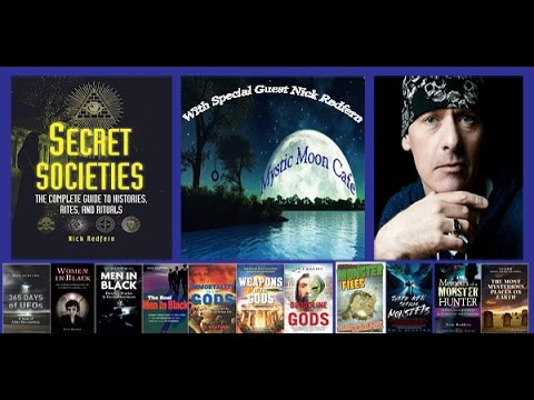Live with Nick Redfern, special guest on Mystic Moon Cafe