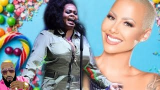 Amber Rose Says She Wants To Be Jill Scott Microphone