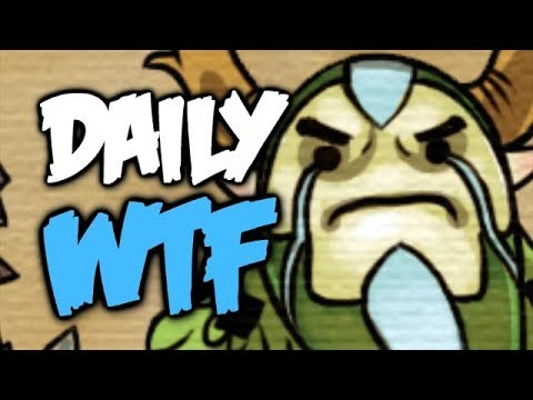 Dota 2 Daily WTF - What if we use 100% of our brain? thumbnail