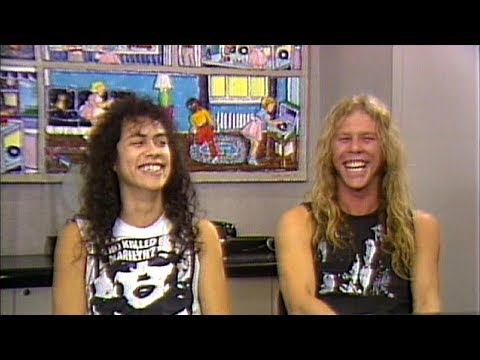 Metallica - MTV News Interviews (1986) [ReMaster Of Puppets DVD]