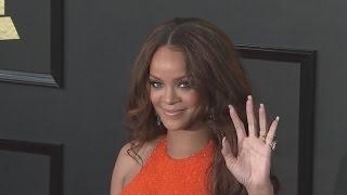 GRAMMYs 2017: Rihanna, Adele, Katy Perry and Lady Gaga arrive at Grammy Awards
