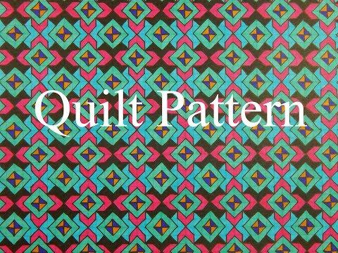 Tessellation - Quilt Pattern