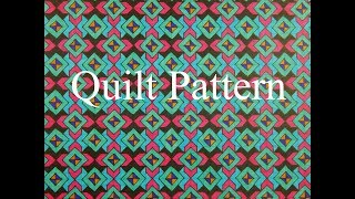 Tessellation - Quilt Pattern