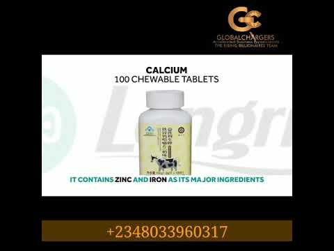 Longrich Products Calcium Supplement Lola Adefusika Whatsapp 234 803 396 0317 Youtube