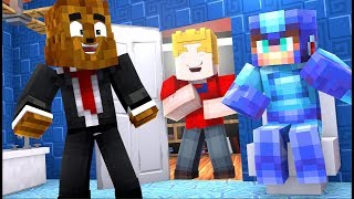 Steve Pooped At McDonald's And I Can't Go Back - Minecraft Never Have I Ever | JeromeASF