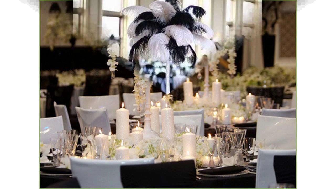 Decoraci n de boda en blanco y negro youtube - Decoracion blanco y negro ...