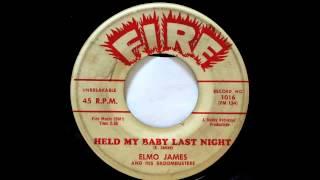 Elmore James. Held My Baby Last Night.