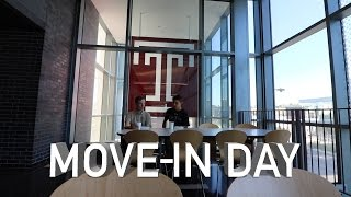 Moving into my dorm at Temple University!