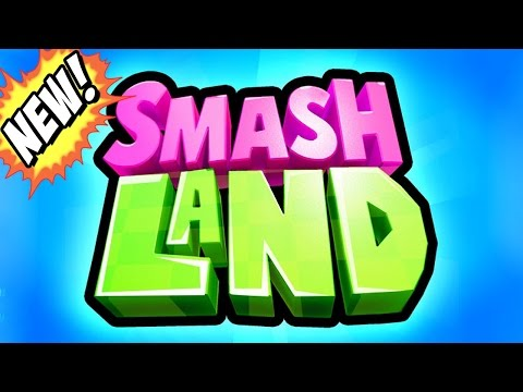 SMASH LAND! Warning! ADDICTIVE! (New Supercell Game)