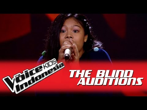 Nasywa Siapkah Kau Tuk I The Blind Auditions I The Voice Kids Indonesia GlobalTV 2016