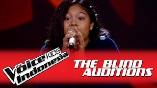 "Nasywa ""Siapkah Kau Tuk..."" I The Blind Auditions I The Voice Kids Indonesia GlobalTV 2016"