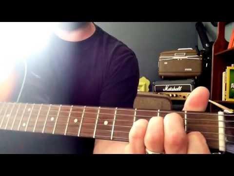 Dirty Heads - Warming Sun - Guitar lesson & slowed down tutorial