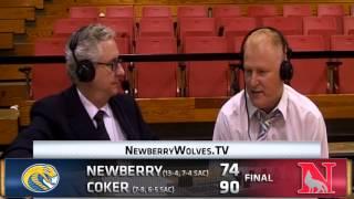 MB HC Dave Davis - Postgame Jan 21, 2015 - Coker 90, Newberry 74