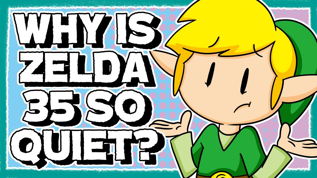 Why is Zelda's 35th Anniversary Smaller Than Mario's?